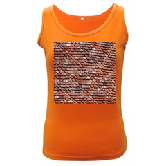 Roof Tiles On A Country House Women s Dark Tank Top