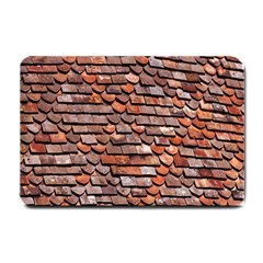 Roof Tiles On A Country House Small Doormat