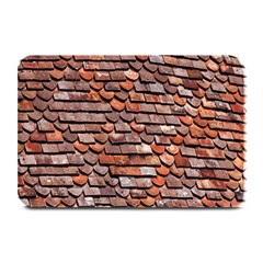 Roof Tiles On A Country House Plate Mats