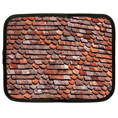 Roof Tiles On A Country House Netbook Case (large)