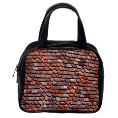 Roof Tiles On A Country House Classic Handbags (One Side)