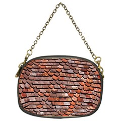 Roof Tiles On A Country House Chain Purses (one Side)