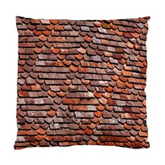 Roof Tiles On A Country House Standard Cushion Case (two Sides)
