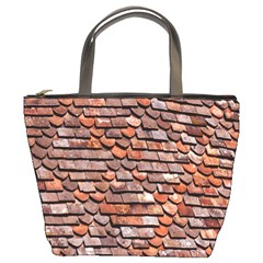 Roof Tiles On A Country House Bucket Bags