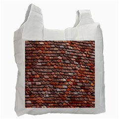 Roof Tiles On A Country House Recycle Bag (one Side)