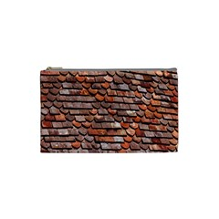 Roof Tiles On A Country House Cosmetic Bag (small)