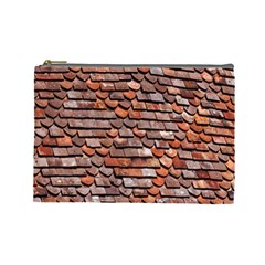Roof Tiles On A Country House Cosmetic Bag (large)