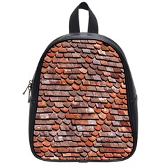 Roof Tiles On A Country House School Bags (Small)