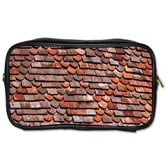 Roof Tiles On A Country House Toiletries Bags