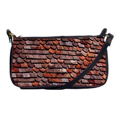 Roof Tiles On A Country House Shoulder Clutch Bags