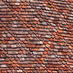 Roof Tiles On A Country House Magic Photo Cubes