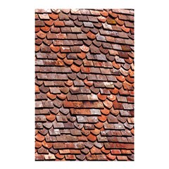 Roof Tiles On A Country House Shower Curtain 48  X 72  (small)