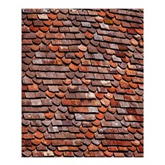 Roof Tiles On A Country House Shower Curtain 60  X 72  (medium)