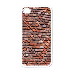 Roof Tiles On A Country House Apple Iphone 4 Case (white)