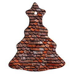 Roof Tiles On A Country House Ornament (christmas Tree)
