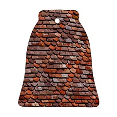 Roof Tiles On A Country House Bell Ornament (two Sides)