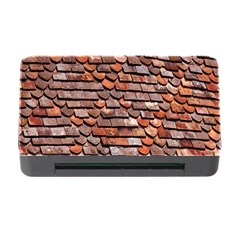 Roof Tiles On A Country House Memory Card Reader With Cf