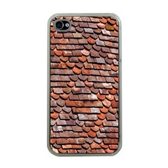Roof Tiles On A Country House Apple Iphone 4 Case (clear)