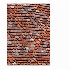 Roof Tiles On A Country House Large Garden Flag (Two Sides)