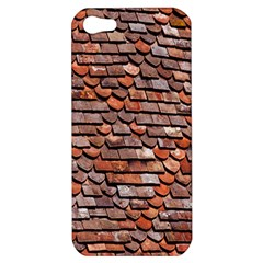 Roof Tiles On A Country House Apple iPhone 5 Hardshell Case