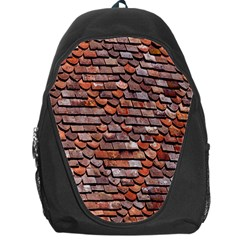 Roof Tiles On A Country House Backpack Bag