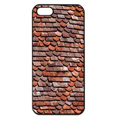 Roof Tiles On A Country House Apple Iphone 5 Seamless Case (black)