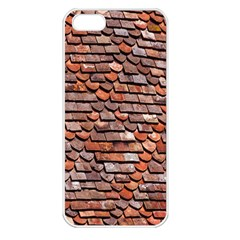 Roof Tiles On A Country House Apple iPhone 5 Seamless Case (White)
