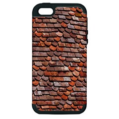 Roof Tiles On A Country House Apple Iphone 5 Hardshell Case (pc+silicone)