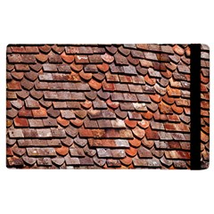 Roof Tiles On A Country House Apple Ipad 3/4 Flip Case