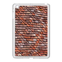 Roof Tiles On A Country House Apple Ipad Mini Case (white)
