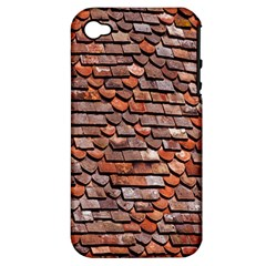 Roof Tiles On A Country House Apple Iphone 4/4s Hardshell Case (pc+silicone)