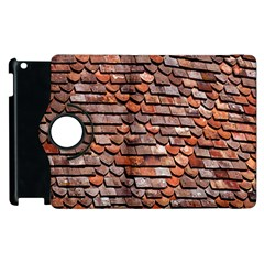 Roof Tiles On A Country House Apple Ipad 2 Flip 360 Case