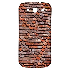 Roof Tiles On A Country House Samsung Galaxy S3 S III Classic Hardshell Back Case