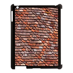 Roof Tiles On A Country House Apple Ipad 3/4 Case (black)