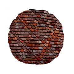 Roof Tiles On A Country House Standard 15  Premium Round Cushions