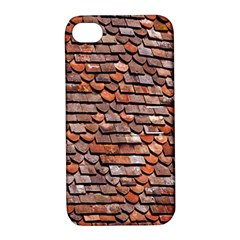 Roof Tiles On A Country House Apple Iphone 4/4s Hardshell Case With Stand
