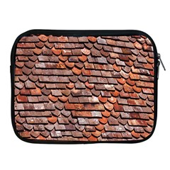 Roof Tiles On A Country House Apple Ipad 2/3/4 Zipper Cases