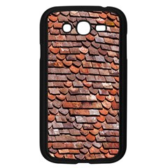 Roof Tiles On A Country House Samsung Galaxy Grand Duos I9082 Case (black)