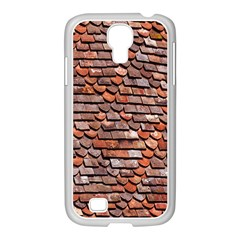 Roof Tiles On A Country House Samsung Galaxy S4 I9500/ I9505 Case (white)