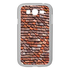 Roof Tiles On A Country House Samsung Galaxy Grand Duos I9082 Case (white)