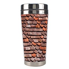Roof Tiles On A Country House Stainless Steel Travel Tumblers