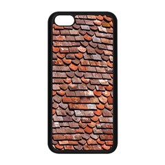 Roof Tiles On A Country House Apple Iphone 5c Seamless Case (black)