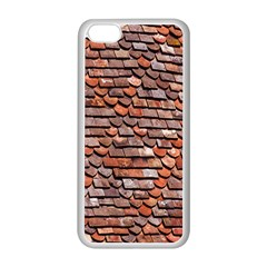 Roof Tiles On A Country House Apple iPhone 5C Seamless Case (White)