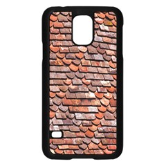 Roof Tiles On A Country House Samsung Galaxy S5 Case (Black)