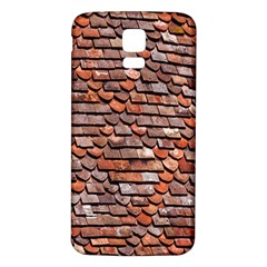 Roof Tiles On A Country House Samsung Galaxy S5 Back Case (white)