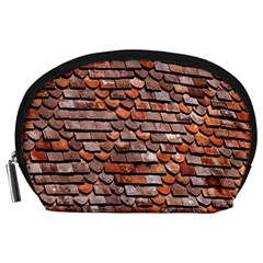 Roof Tiles On A Country House Accessory Pouches (large)