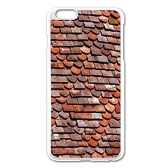Roof Tiles On A Country House Apple Iphone 6 Plus/6s Plus Enamel White Case