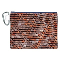 Roof Tiles On A Country House Canvas Cosmetic Bag (XXL)