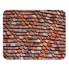 Roof Tiles On A Country House Double Sided Flano Blanket (large)