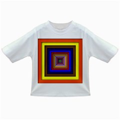 Square Abstract Geometric Art Infant/toddler T Shirts
